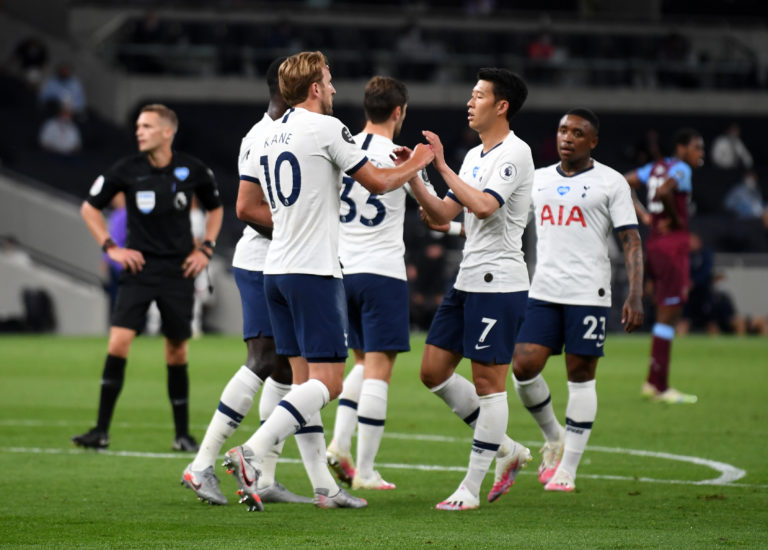 Tottenham boosted their Champions League hopes