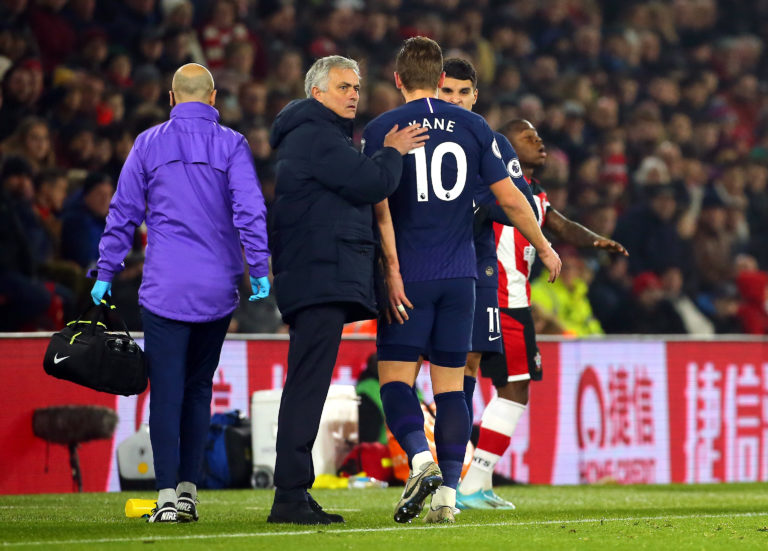 Harry Kane required surgery after suffering a hamstring injury at Southampton in January