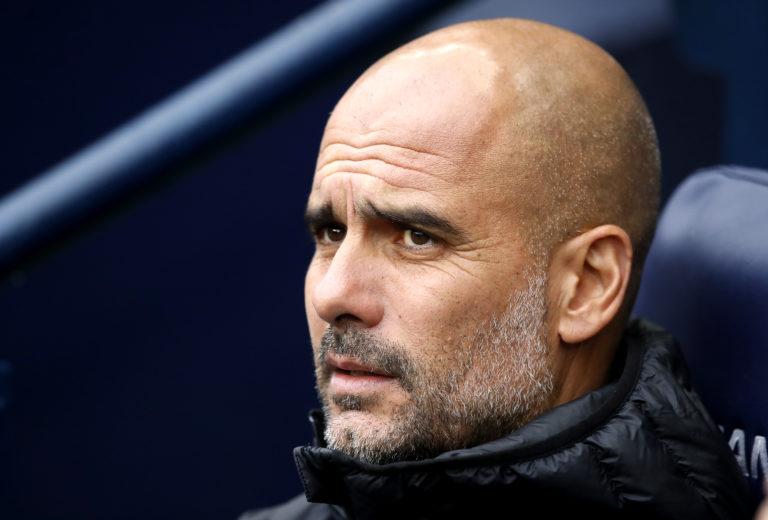 Pep Guardiola, pictured, is unsure when Sergio Aguero will return