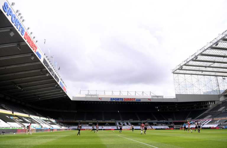 St James' Park will be the stage for the first FA Cup draw since the coronavirus pandemic struck the UK