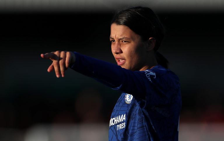 Chelsea's Sam Kerr is backing the Australia-New Zealand bid