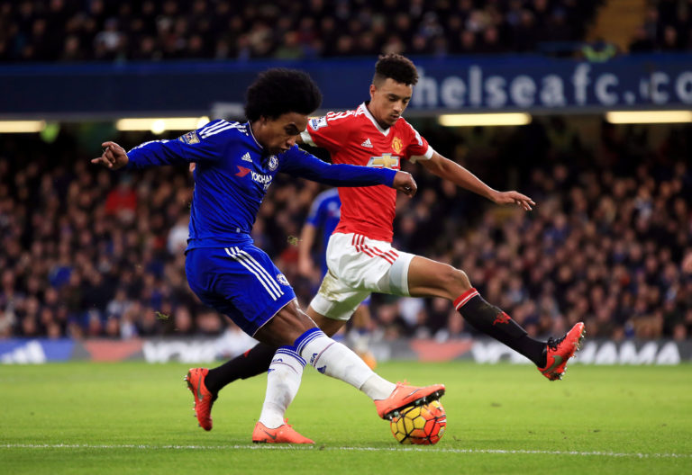 Cameron Borthwick-Jackson was part of the first-team set-up under Louis van Gaal