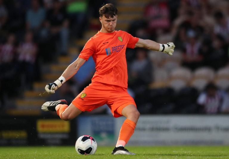 Kieran O'Hara has been on loan at League One side Burton