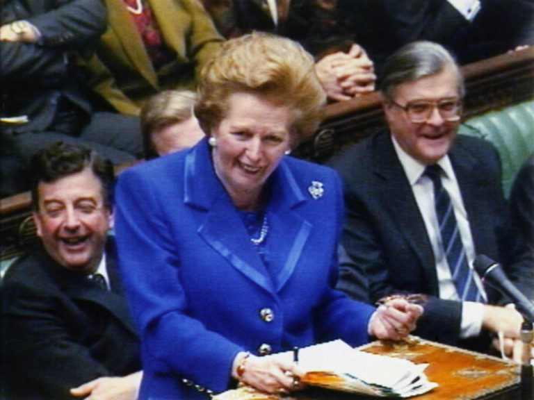 British Politics – The Conservative Party – Prime Minister Margaret Thatcher – London – 1990