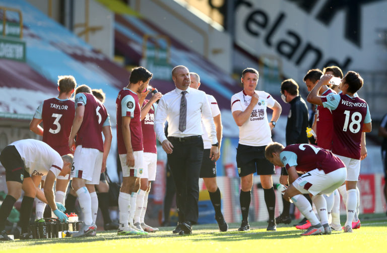 The drinks break came at a good time for Burnley