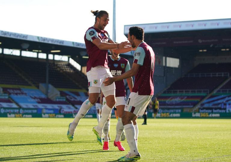 Jay Rodriguez netted Burnley's winner
