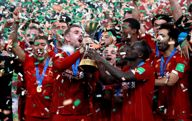 Liverpool took time out from their relentless title march to win the Club World Cup in Qatar. Reds captain Jordan Henderson lifted the trophy at the Khalifa International Stadium in Doha after Roberto Firmino scored an extra-time winner against Brazilian club Flamengo