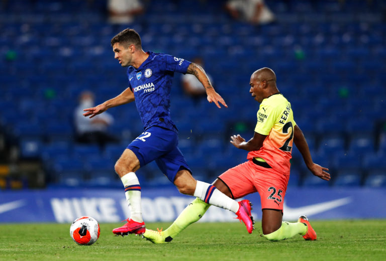 Christian Pulisic opened the scoring for Chelsea