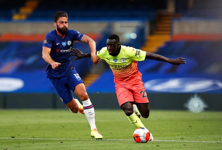 Benjamin Mendy was at fault for Chelsea's opener