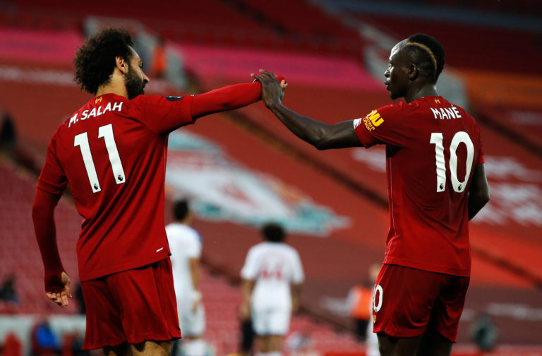 The recruitment of the likes of Sadio Mane and Mohamed Salah improved the squad.