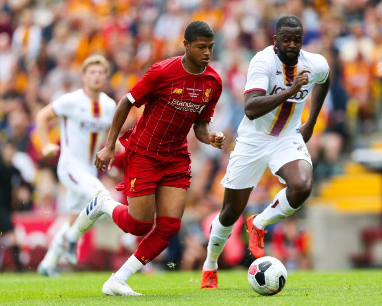 Striker Rhian Brewster offers a glimpse into Liverpool's future