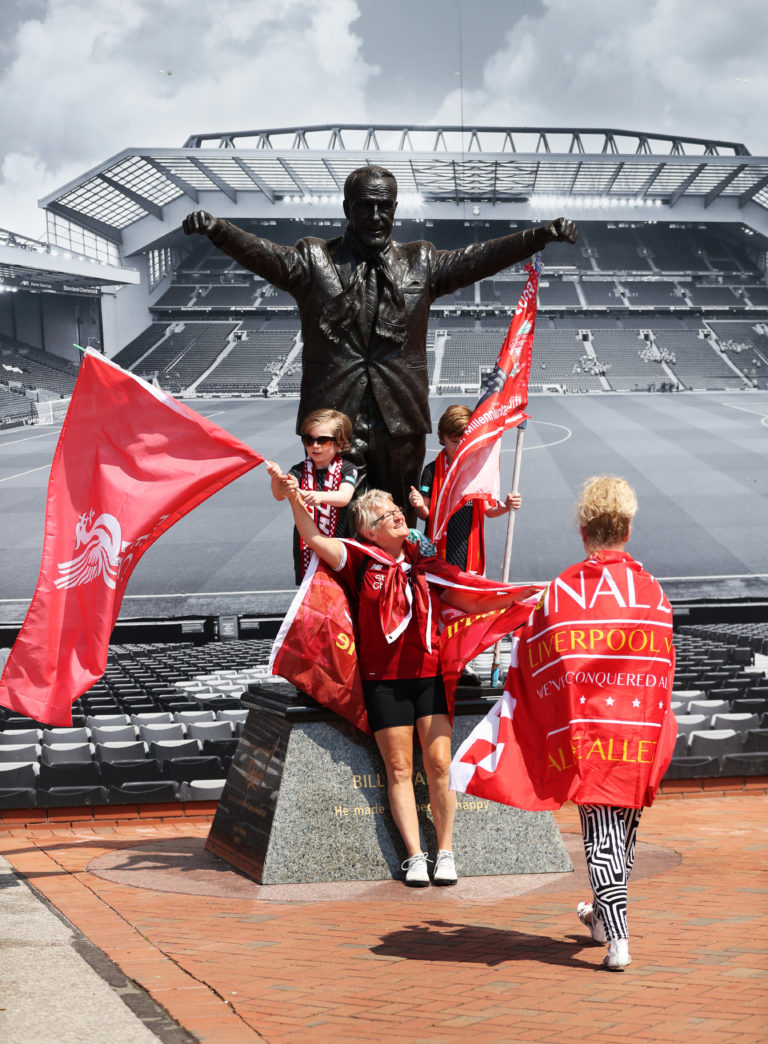 Klopp insists he is not worthy of a statue to sit alongside the greats of Bill Shankly (pictured) and Bob Paisley at Anfield