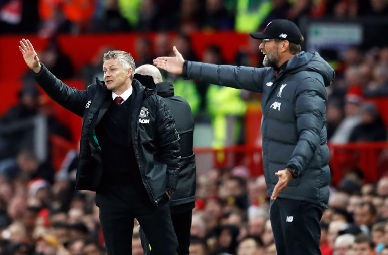 Manchester United manager Ole Gunnar Solskjaer admits it hurts seeing Liverpool win the title