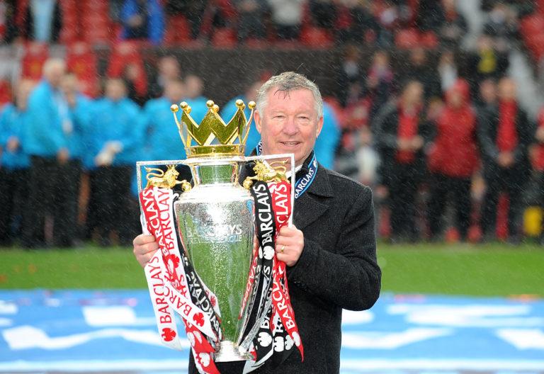 Sir Alex Ferguson won 13 titles with Manchester United