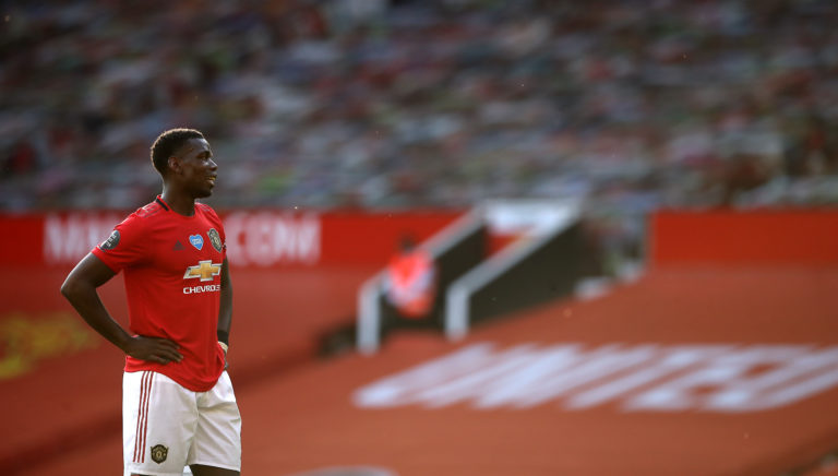 Paul Pogba showed promise against the Blades