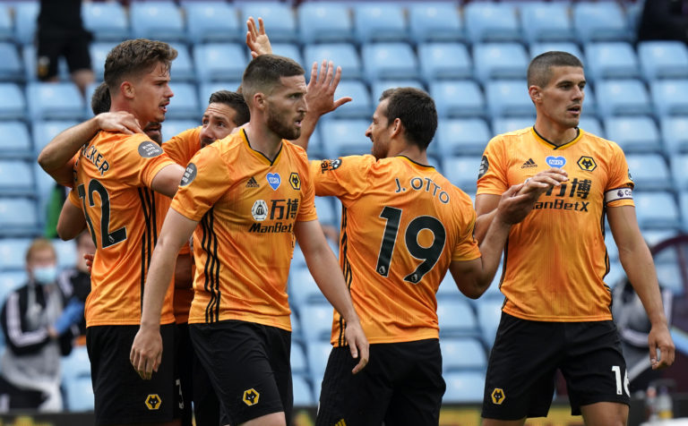 Wolves have won all three matches since the Premier League's resumption