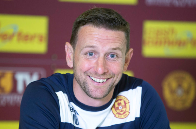 Ian Baraclough used to manage Motherwell