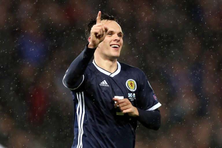Dundee United may have to start their Betfred Cup campaign without Lawrence Shankland
