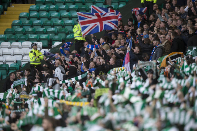 Fans are set to be shut out of the first Glasgow derby meeting