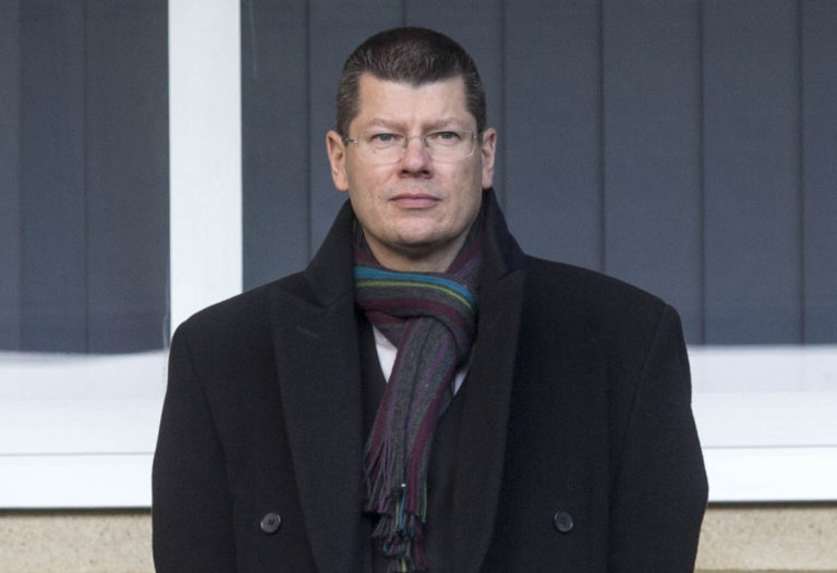 Neil Doncaster has been accused by Hearts and Partick Thistle