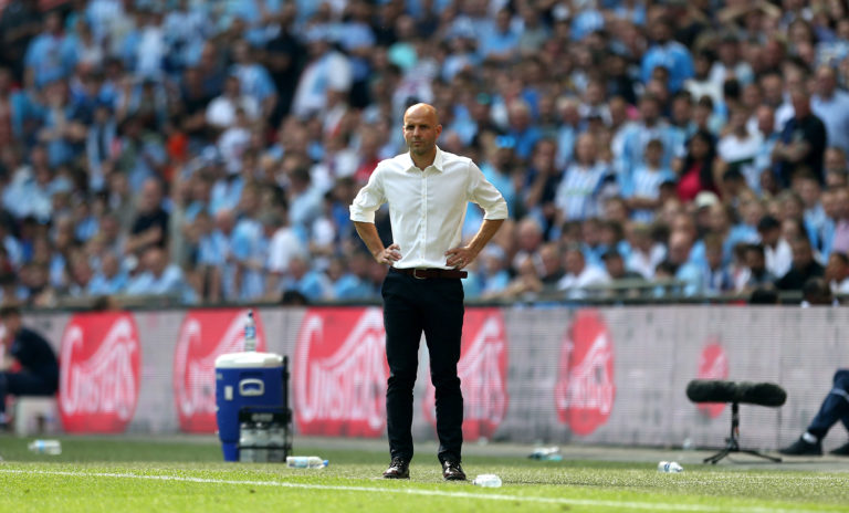 Exteter, under former boss Paul Tisdale, lost to Coventry in the 2018 League Two play-off final at Wembley.