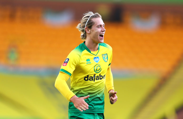 Todd Cantwell's fine strike had given Norwich hope