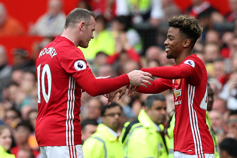 Angel Gomes made his Manchester United debut against Crystal Palace aged 16
