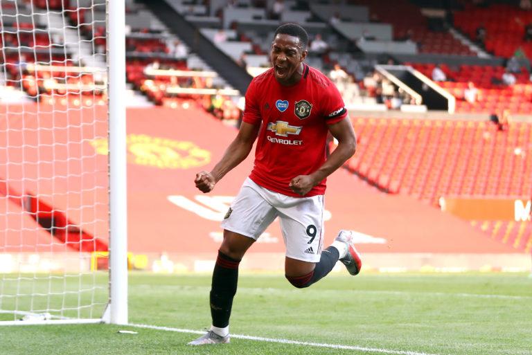 Martial scored a hat-trick against Sheffield United last week