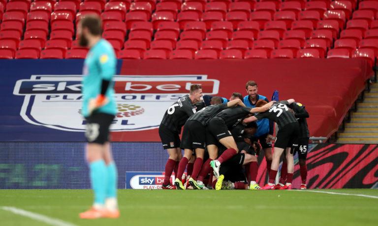 Sam Hoskins' goal put Northampton out of sight