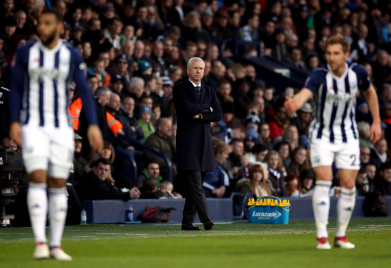 Alan Pardew could not turn around West Brom's fortunes