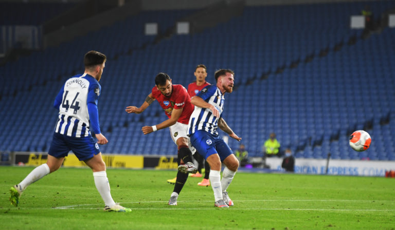 Bruno Fernandes stole the show at the Amex