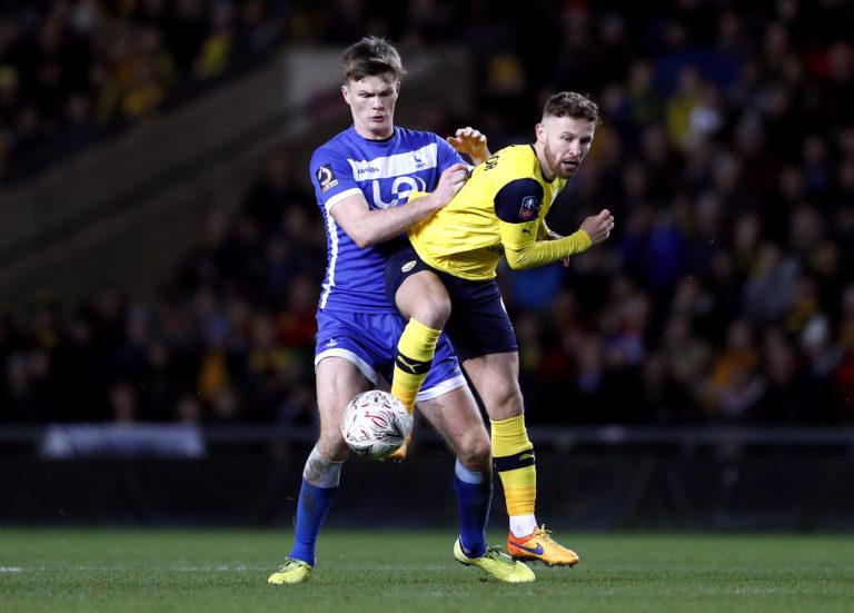 Matty Taylor has been on loan at Oxford this season