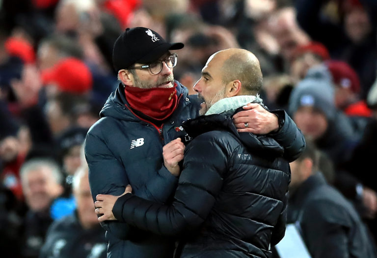 Jurgen Klopp and Pep Guardiola have an amicable rivalry