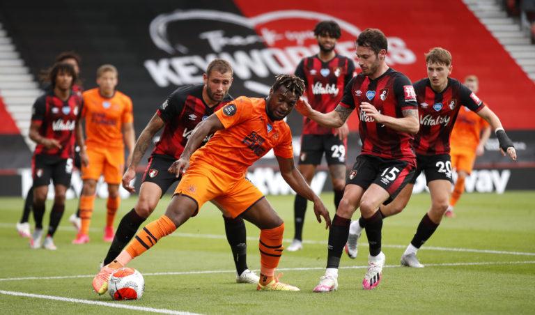 Allan Saint-Maximin made three goals