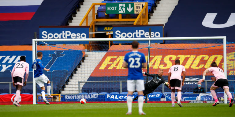 Gylfi Sigurdsson scores his side's second goal of the game from the penalty spot