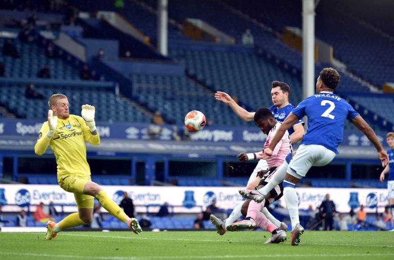 Kelechi Iheanacho got a fortunate goal