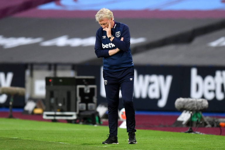 David Moyes was not happy with VAR