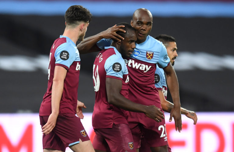 Michail Antonio bounced back to score West Ham's second