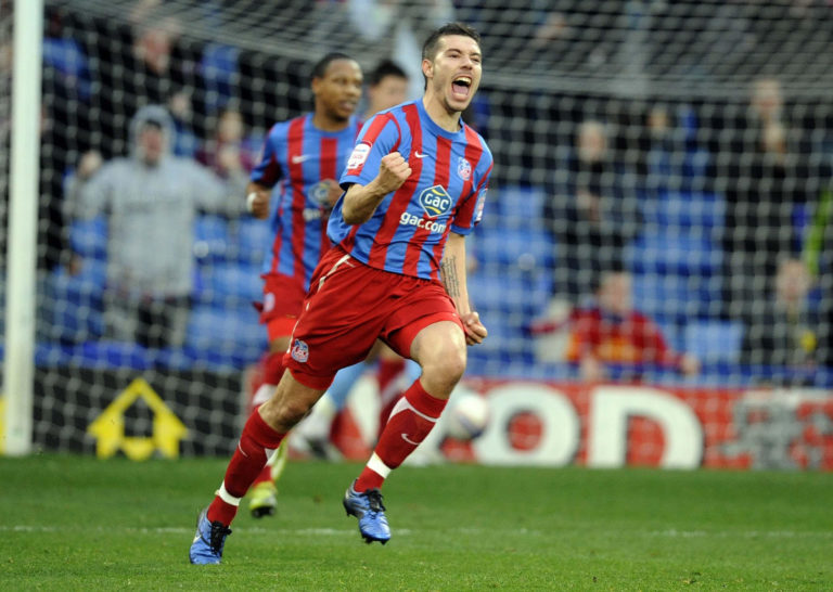 Darren Ambrose spent three seasons at Crystal Palace and helped them avoid relegation from the Championship during the 2009-10 season