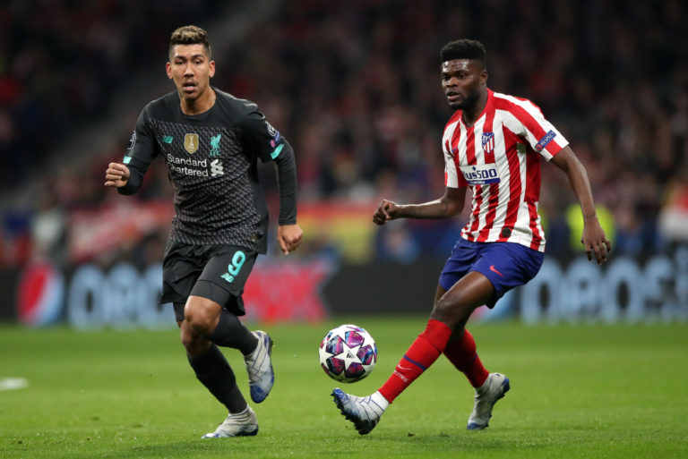 Arsenal have been linked with Atletico Madrid's Thomas Partey