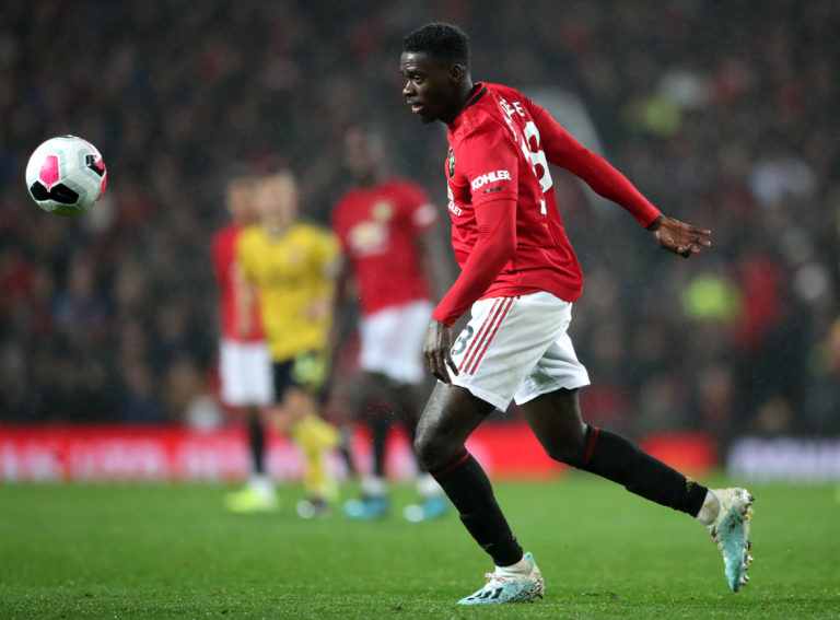 Axel Tuanzebe is set to miss the rest of the season