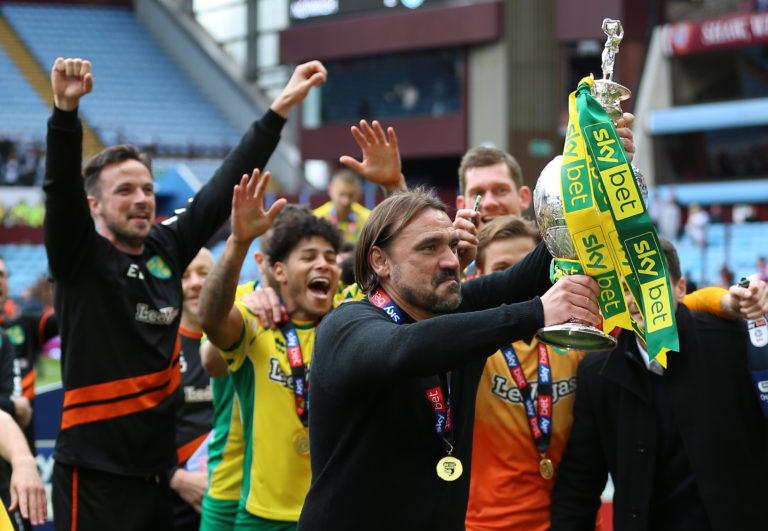 Daniel Farke led Norwich to the Sky Bet Championship title last season