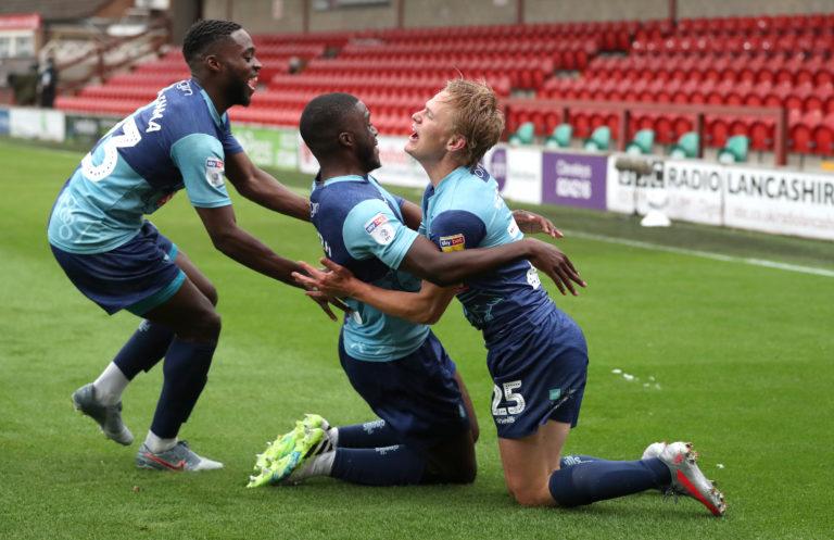 Fleetwood Town v Wycombe Wanderers – Sky Bet League One – Play Off – Semi-Final – First Leg – Highbury Stadium
