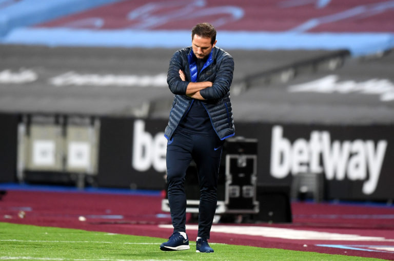 Frank Lampard has been talking about set-pieces