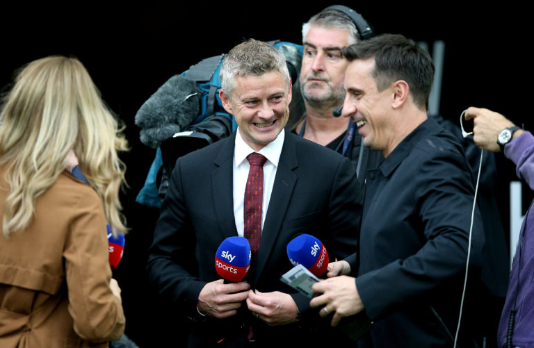 Ole Gunnar Solskjaer agrees with former United team-mate Gary Neville's views on the squad's progress