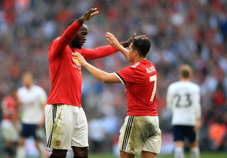 Romelu Lukaku and Alexis Sanchez were allowed to join Inter Milan in the summer