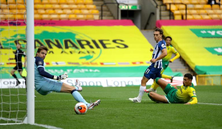 Leandro Trossard scored the winner for Brighton at Norwich