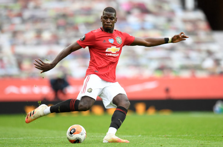Paul Pogba has started in United's last three Premier League matches