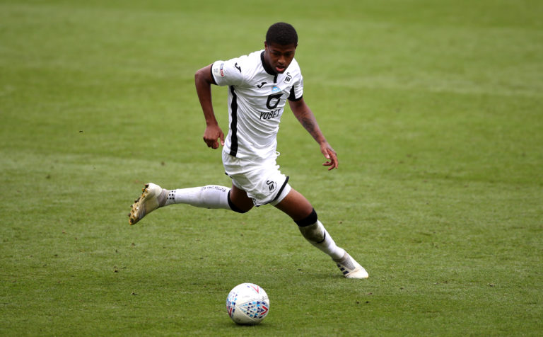 Rhian Brewster has scored seven goals for Swansea since he joined on loan from Liverpool in January