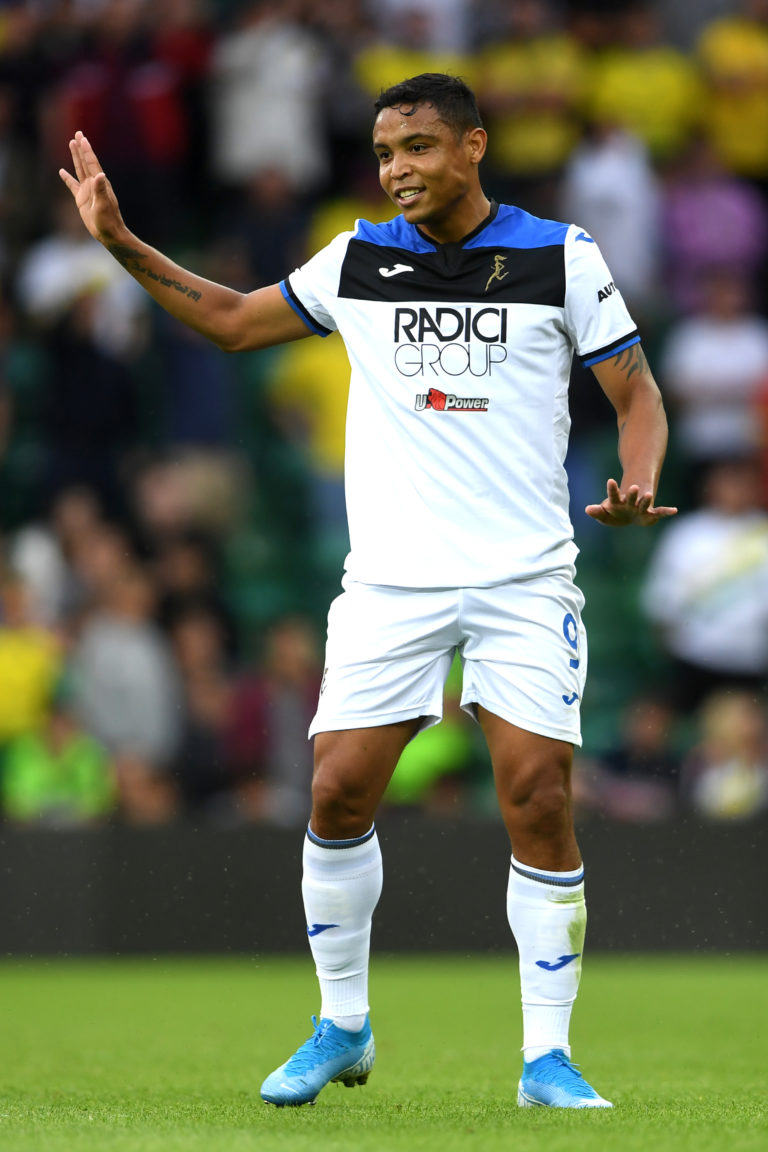 Atalanta are on course for a second season of Champions League football after Luis Muriel hit the winner at Cagliari